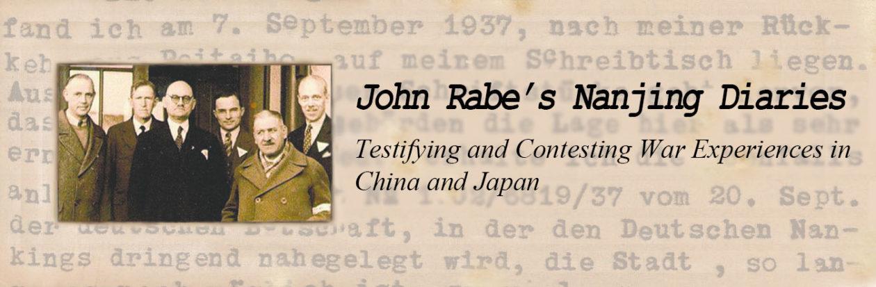 John Rabe's Nanjing Diaries
